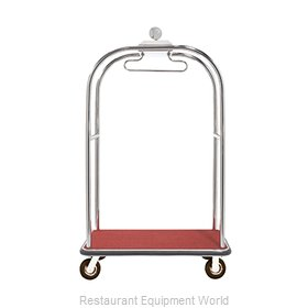 Aarco Products Inc LC-3C-4P Luggage Cart