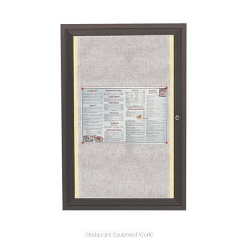 Aarco Products Inc LODCC2418RBA Bulletin Board (Magnified)