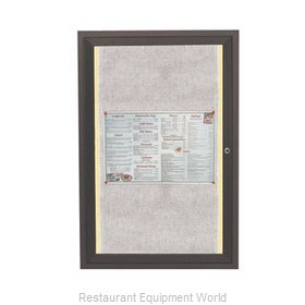 Aarco Products Inc LODCC2418RBA Bulletin Board