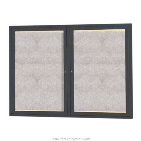 Aarco Products Inc LODCC3648RBA Bulletin Board (Magnified)