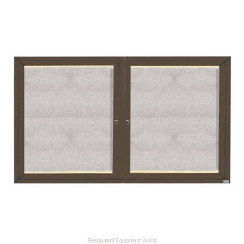 Aarco Products Inc LODCC3660RBA Bulletin Board (Magnified)