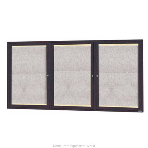 Aarco Products Inc LODCC3672-3RBA Bulletin Board (Magnified)