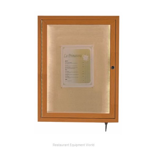 Aarco Products Inc LWL2418O Memorabilia Display Case (Magnified)