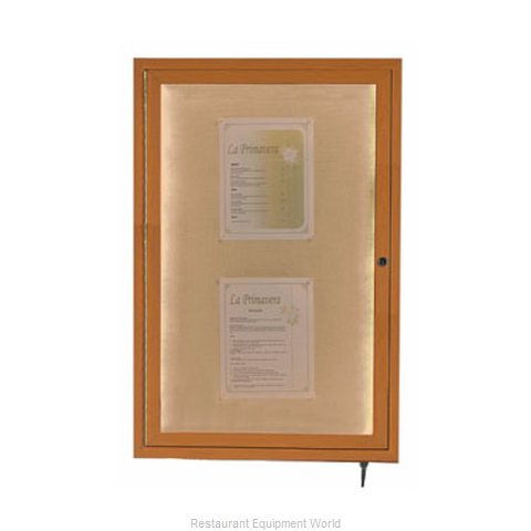 Aarco Products Inc LWL3624O Memorabilia Display Case (Magnified)