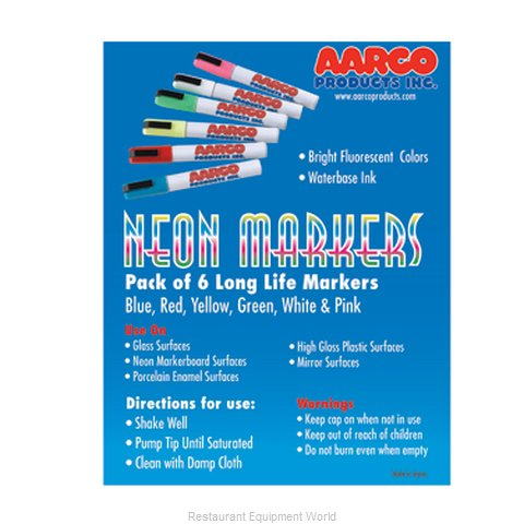 Aarco Products Inc. MFL-6 Nean Markers