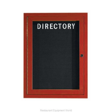 Aarco Products Inc OADCW2418L Letter Board