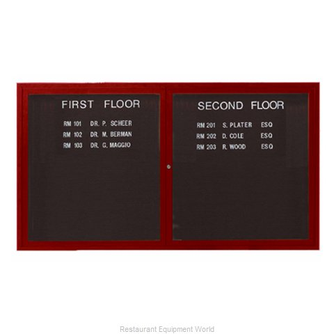 Aarco Products Inc OADCW3660L Letter Board