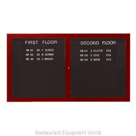 Aarco Products Inc OADCW3660L Message Center Board