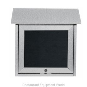 Aarco Products Inc OPLD1818L-2 Letter Board