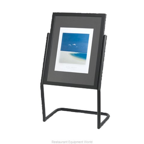 Aarco Products Inc P-15BK Sign, Freestanding