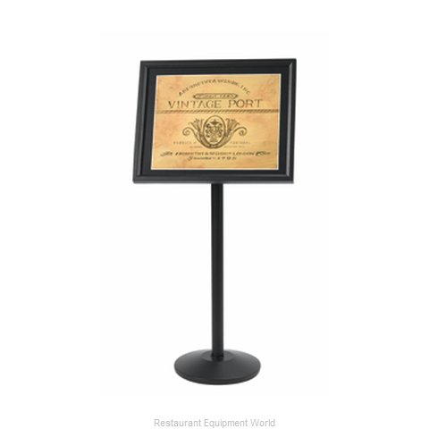 Aarco Products Inc P-5BK Sign, Freestanding