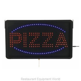 Aarco Products Inc PIZ01L Sign, Lighted