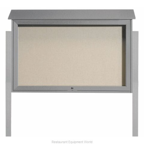 Aarco Products Inc PLD3045TDPP-2 Bulletin Board (Magnified)