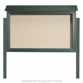 Aarco Products Inc PLD3045TDPP-4 Bulletin Board