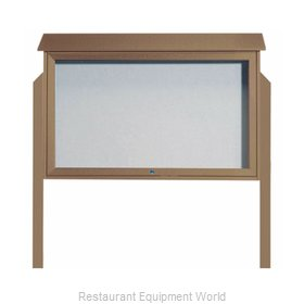 Aarco Products Inc PLD3045TDPP-8 Bulletin Board