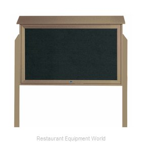 Aarco Products Inc PLD3045TLDPP-8 Letter Board