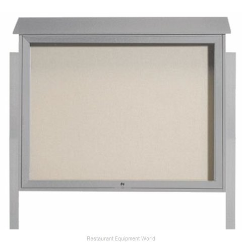 Aarco Products Inc PLD3645TDPP-2 Bulletin Board (Magnified)