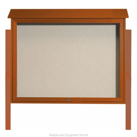 Aarco Products Inc PLD3645TDPP-5 Bulletin Board (Magnified)