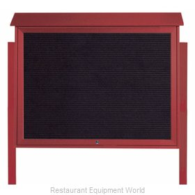 Aarco Products Inc PLD3645TLDPP-7 Letter Board