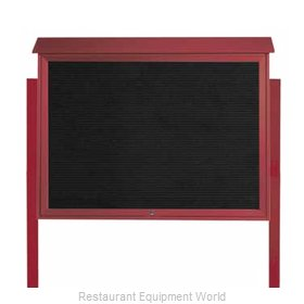 Aarco Products Inc PLD4052TLDPP-7 Letter Board