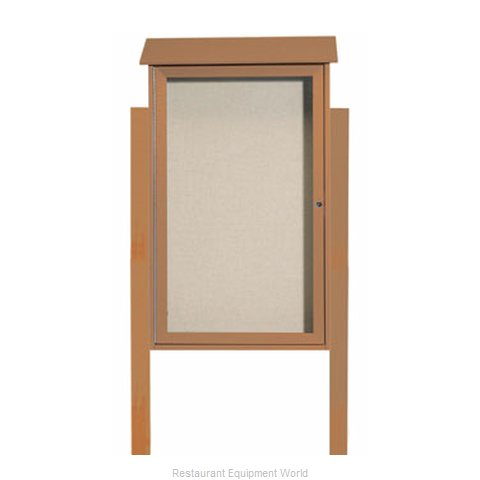 Aarco Products Inc PLD4226DPP-5 Bulletin Board (Magnified)