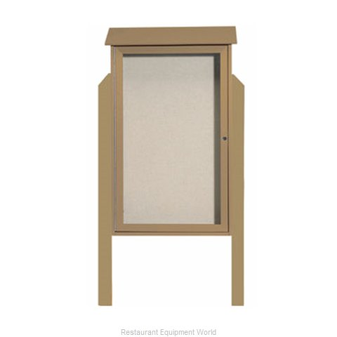 Aarco Products Inc PLD4226DPP-8 Bulletin Board (Magnified)
