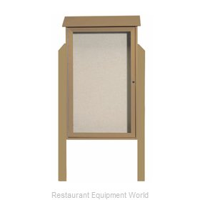 Aarco Products Inc PLD4226DPP-8 Bulletin Board