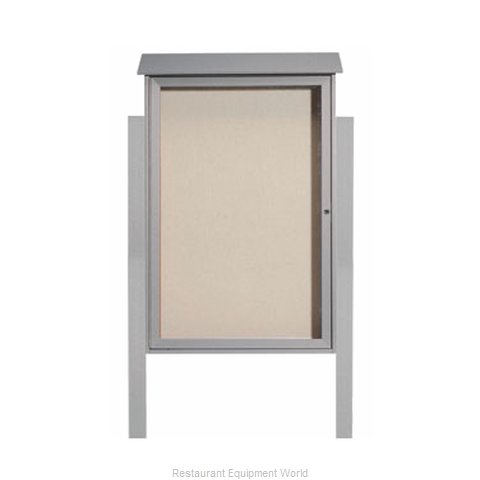 Aarco Products Inc PLD4832DPP-2 Bulletin Board (Magnified)