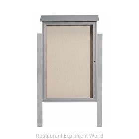 Aarco Products Inc PLD4832DPP-2 Bulletin Board