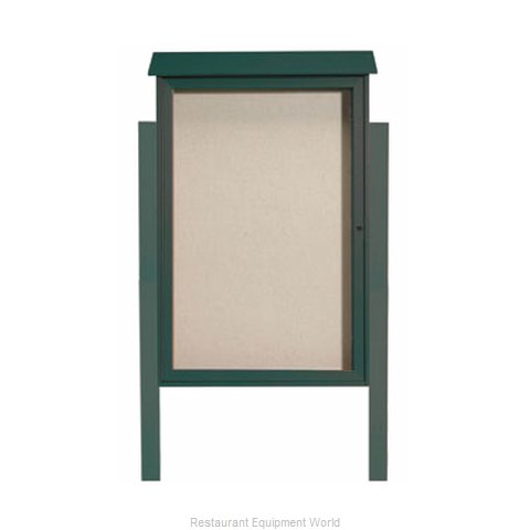 Aarco Products Inc PLD4832DPP-4 Bulletin Board
