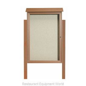 Aarco Products Inc PLD4832DPP-5 Bulletin Board