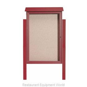 Aarco Products Inc PLD4832DPP-7 Bulletin Board