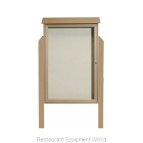 Aarco Products Inc PLD4832DPP-8 Bulletin Board