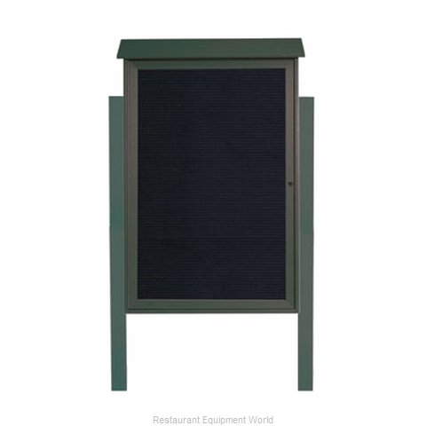 Aarco Products Inc PLD4832LDPP-4 Letter Board