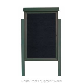 Aarco Products Inc PLD4832LDPP-4 Message Center Board