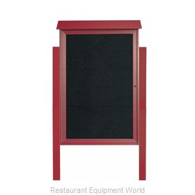 Aarco Products Inc PLD4832LDPP-7 Letter Board