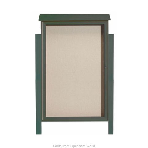 Aarco Products Inc PLD5438DPP-4 Bulletin Board (Magnified)