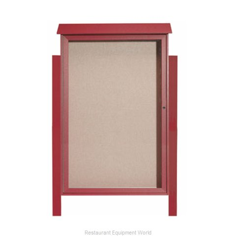Aarco Products Inc PLD5438DPP-7 Bulletin Board (Magnified)