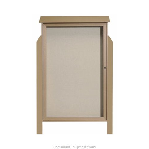 Aarco Products Inc PLD5438DPP-8 Bulletin Board