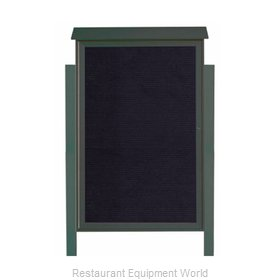 Aarco Products Inc PLD5438LDPP-4 Letter Board