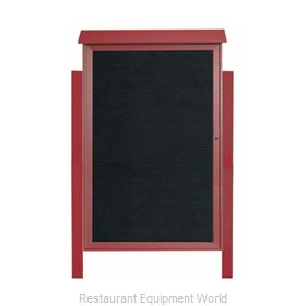 Aarco Products Inc PLD5438LDPP-7 Letter Board