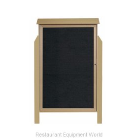 Aarco Products Inc PLD5438LDPP-8 Letter Board