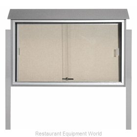 Aarco Products Inc PLDS3045DPP-2 Bulletin Board