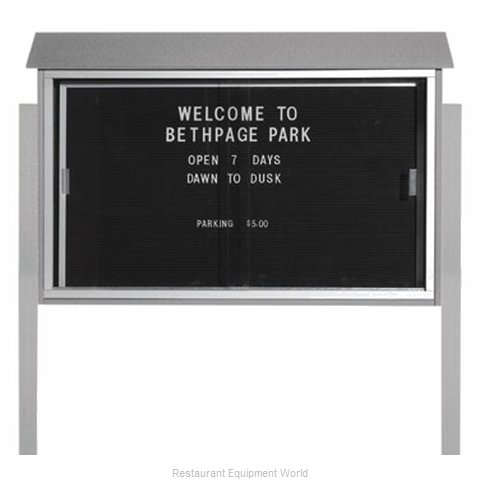 Aarco Products Inc PLDS3045LDPP-2 Letter Board