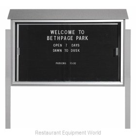 Aarco Products Inc PLDS3045LDPP-2 Message Center Board
