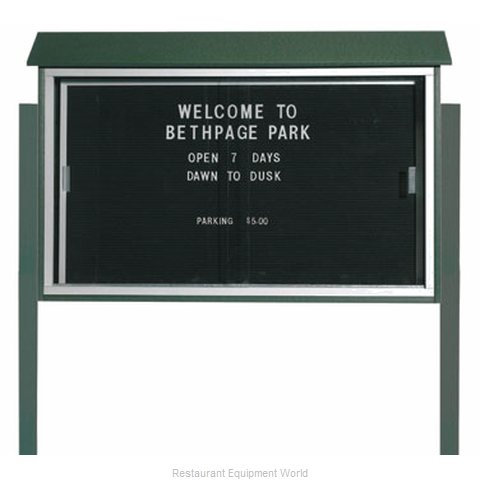 Aarco Products Inc PLDS3045LDPP-4 Message Center Board