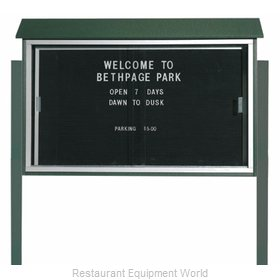Aarco Products Inc PLDS3045LDPP-4 Letter Board