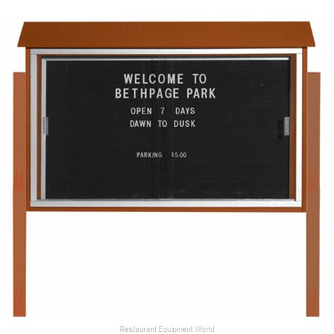 Aarco Products Inc PLDS3045LDPP-5 Letter Board