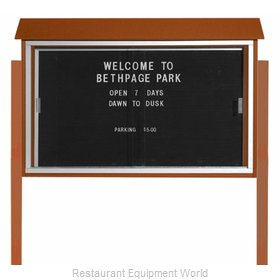 Aarco Products Inc PLDS3045LDPP-5 Message Center Board
