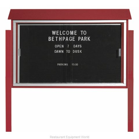 Aarco Products Inc PLDS3045LDPP-7 Message Center Board